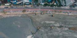 Balneário Camboriú conclui trecho sul de megaobra na faixa de areia